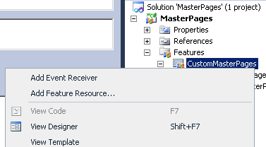 Add Event Receiver